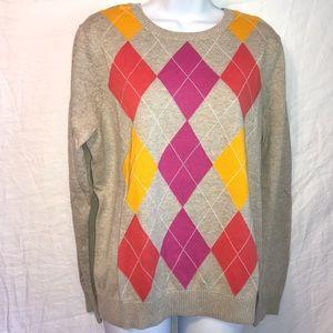IZOD Argyle comfy classic sweater